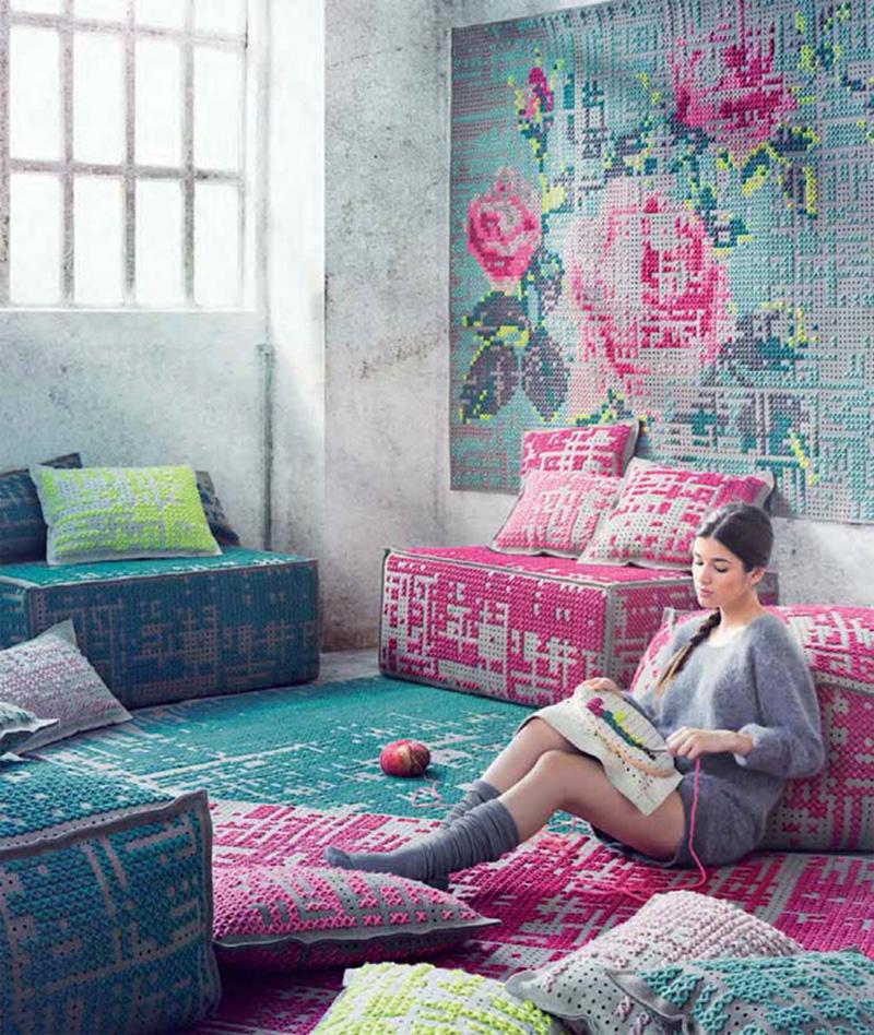 Sofás y alfombras de Gandia Blasco