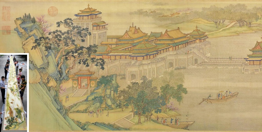 Punto de cruz Qingming Festival