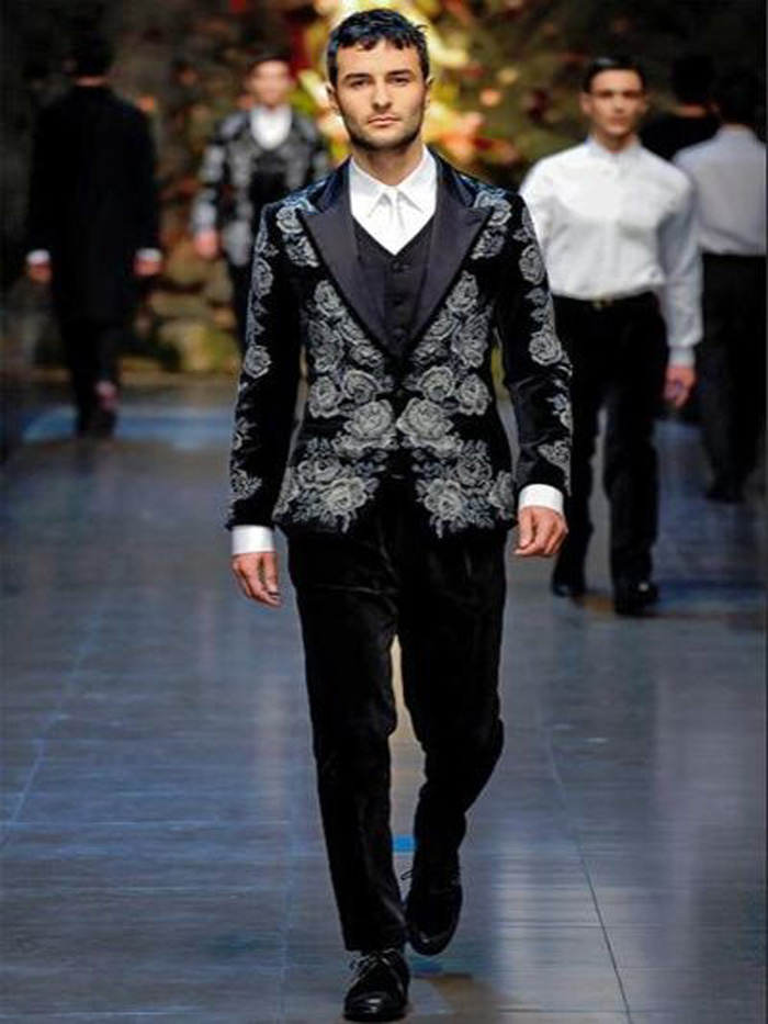 Dolce & Gabbana chaqueta punto de cruz