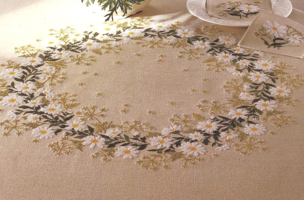 Mantel floral Eva Rosenstan