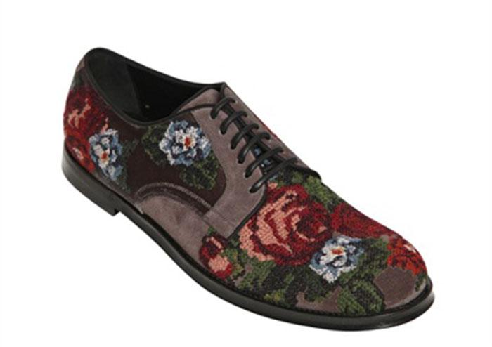 Zapatos para chicos en punto de cruz