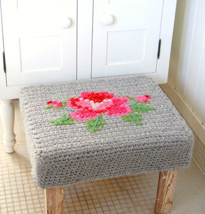 Un taburete handmade