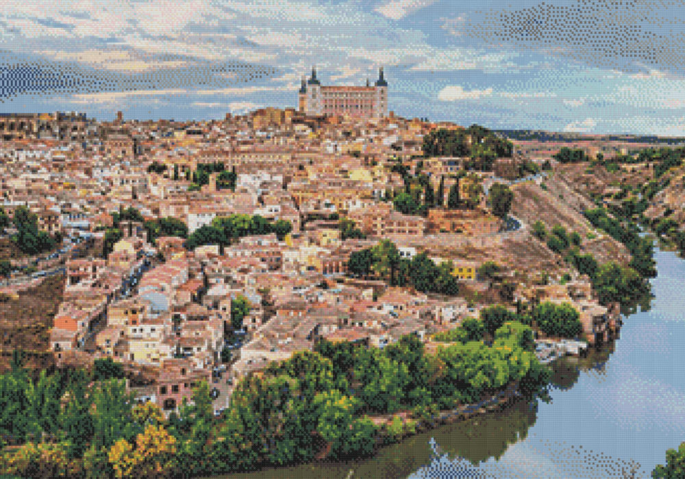 Patrón punto de cruz Toledo