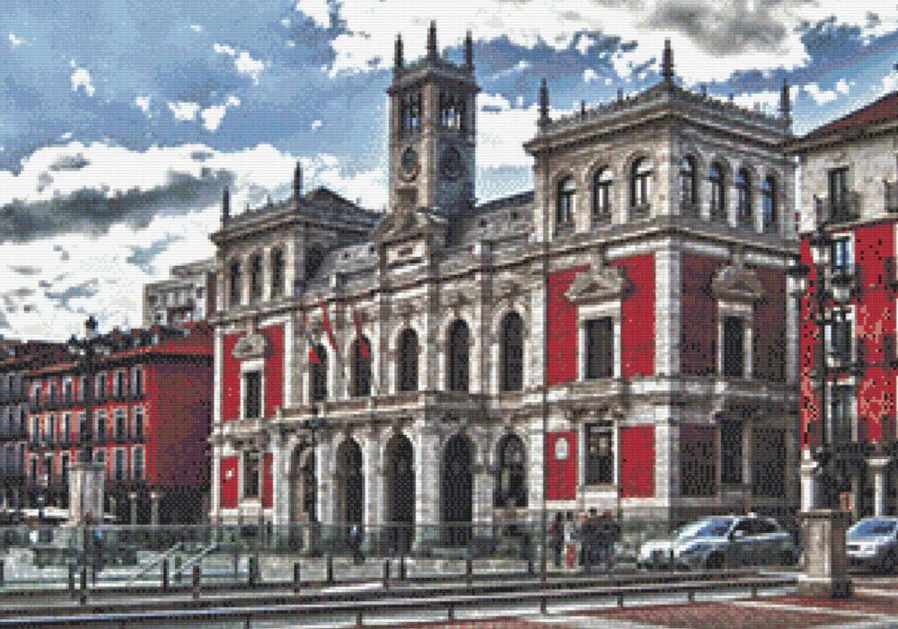 Patrón punto de cruz Ayuntamiento de Valladolid