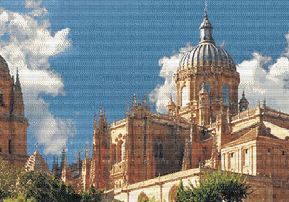 Patrón punto de cruz de la Catedral de Salamanca